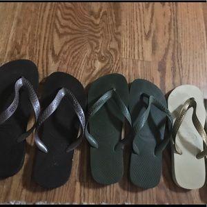 Havaiana Women's Flip Flop Bundle-3 Pairs